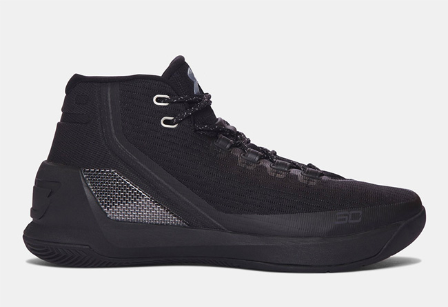 "Under Armour Curry 3 ""Triple Black"" - 莆田鞋"