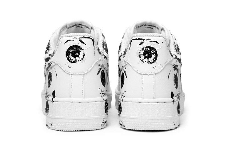 Supreme,CdG,Nike,Air Force 1  发售日期确定!Supreme x CdG x Nike Air Force 1 官图释出