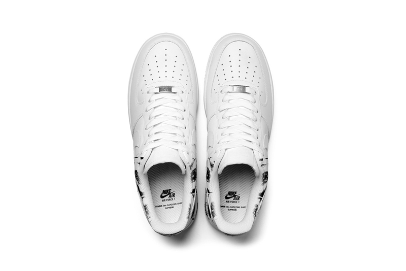 Supreme,CdG,Nike,Air Force 1  发售日期确定!Supreme x CdG x Nike Air Force 1 官图释出