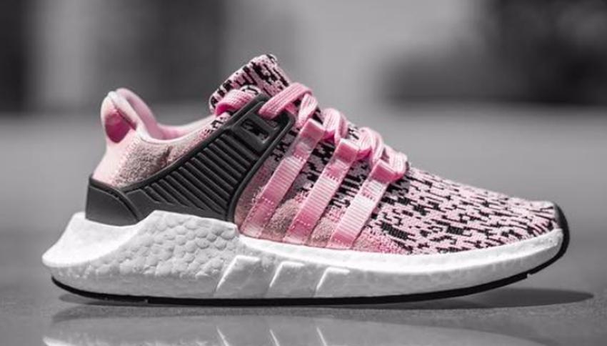 adidas,EQT,BZ0583  噪音迷彩登场!这双粉色 EQT 93/17 恐怕又将成为人气翘楚