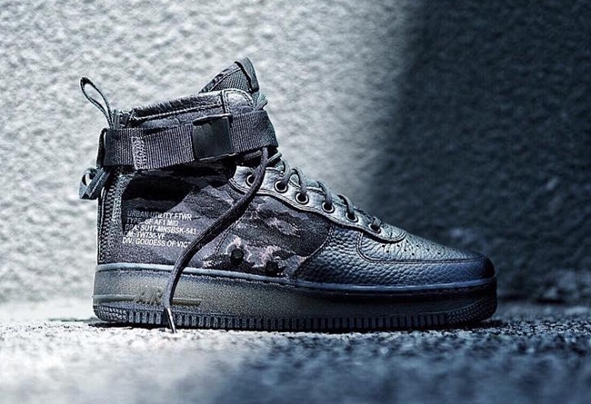 Nike Special Field Air Force 1 虎纹迷彩 - 莆田鞋之家 0594sneaker.com