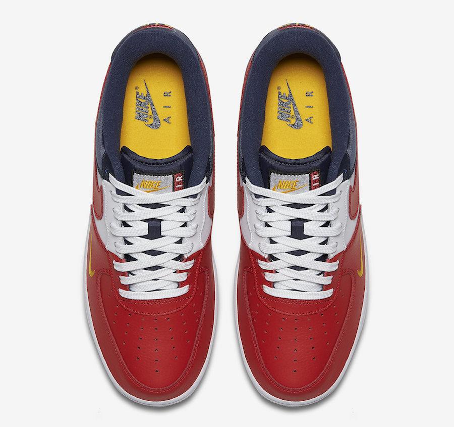 Nike,Air Force 1 Low,823511-60  白红蓝经典搭配!夏季版本 Air Force 1 Low 近期发售!