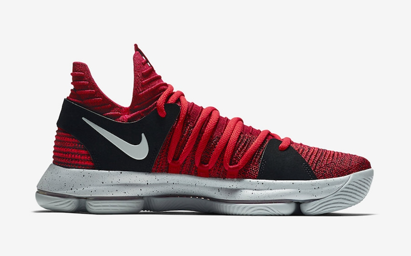 "Nike KD 10 ""University Red""  货号:897816-600 - 莆田鞋"