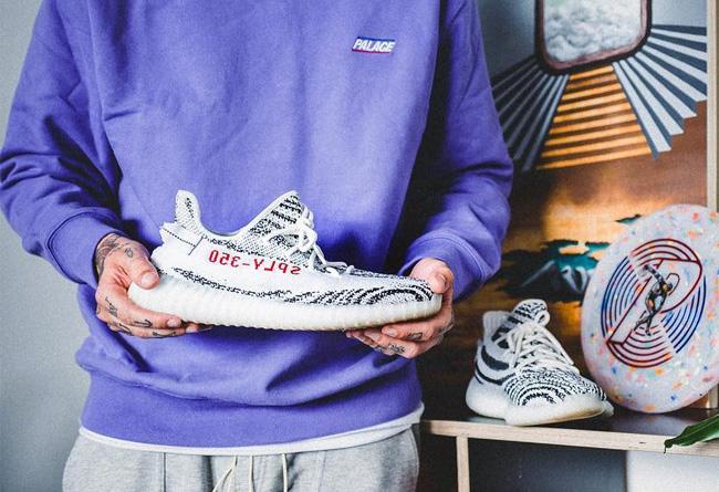 Adidas yeezy 350 boost v2 zebra for Adidas originals unicenter