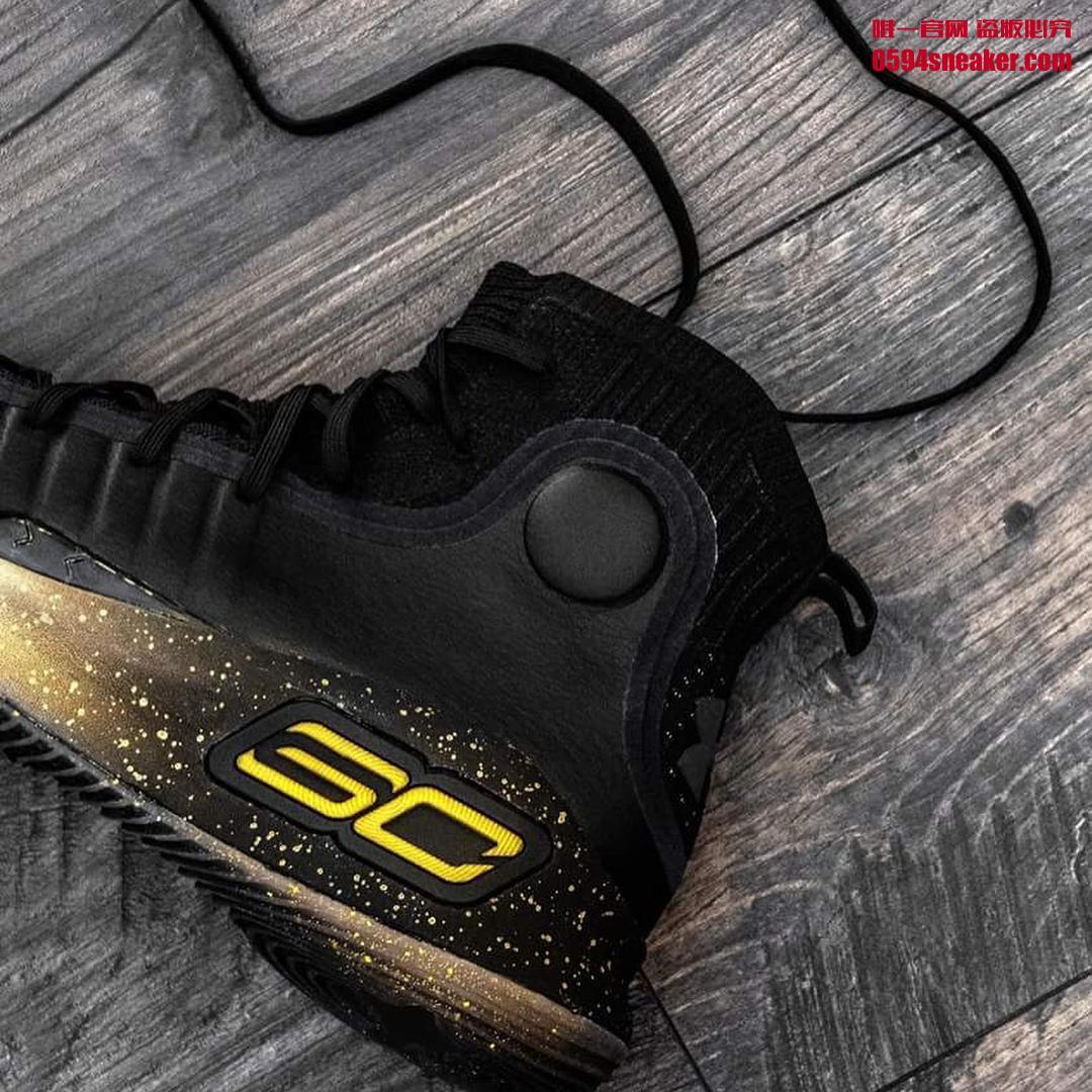 Under Armour Curry 4 黑金 - 莆田鞋