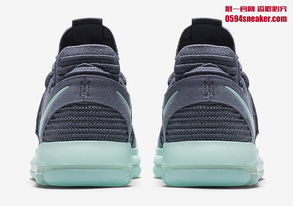 """Nike KD 10""""Igloo"""" 货号:897816-002 薄荷绿配色 - 莆田鞋"""