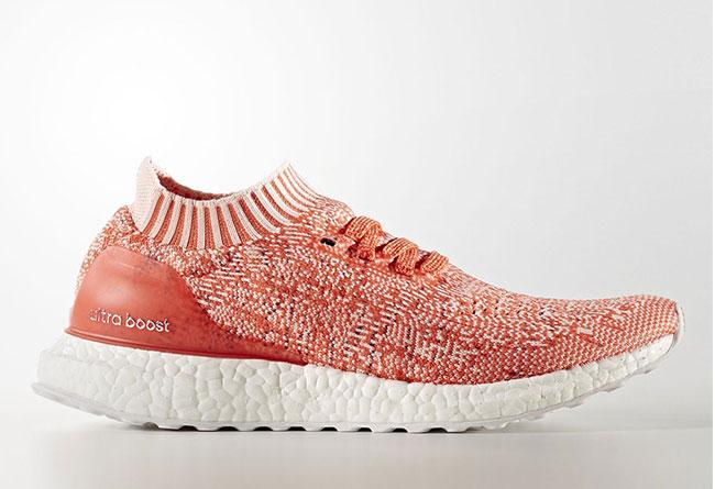 """Adidas Ultra Boost Uncaged """"Coral"""" 女生专属配色 - 莆田鞋"""