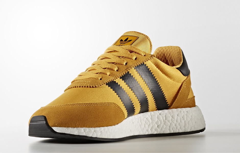 "adidas Originals Iniki Runner ""Goldenrod"" 货号:BY9733  ""李小龙"" - 莆田鞋"