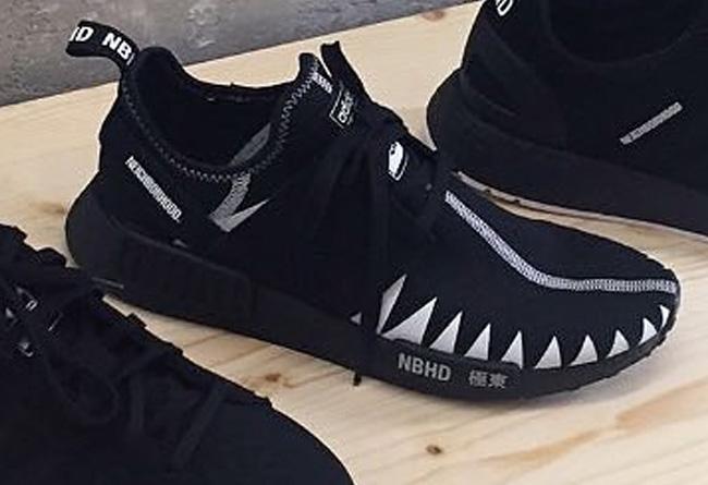 adidas Originals x NBHD 联名 - 莆田鞋