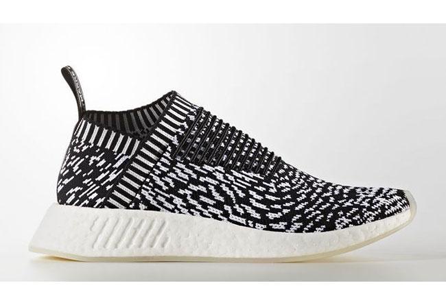 "adidas,NMD City Sock 2  独特黑白演绎!全新发布 NMD City Sock 2 ""Sashiko""配色"