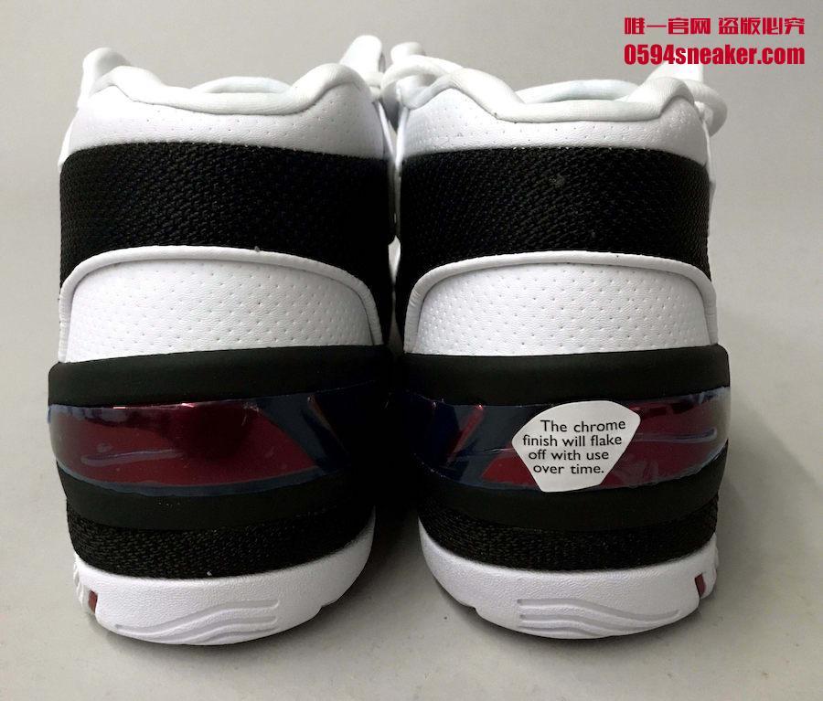 "Nike Air Zoom Generation QS ""First Game"" 货号: AJ4204-101 - 莆田鞋"