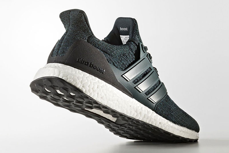 "adidas,Ultra Boost,Night Green  磨砂后跟!adidas Ultra Boost 3.0 ""Night Green"" 即将登场"
