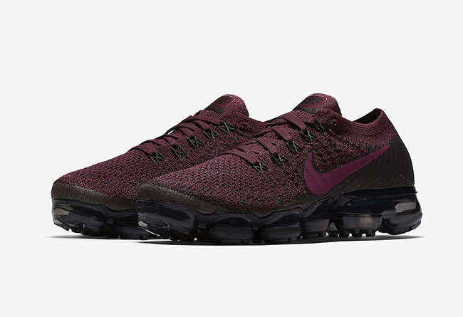 Nike,Air VaporMax,849557-605  紫红莓果!这双女生专属 Air VaporMax 秋季发售