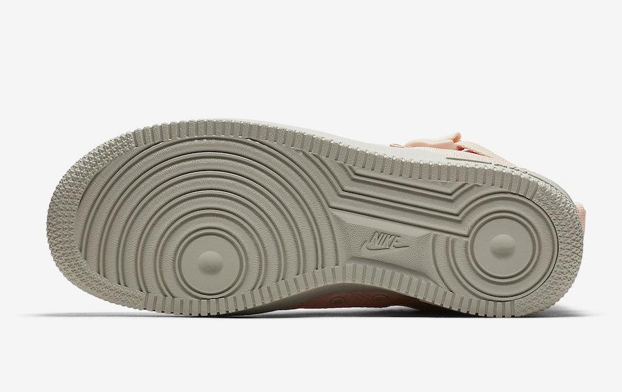 Nike,SF-AF1 Mid,AA3966-800  粉橙诱惑!女生专属 SF-AF1 Mid 本周发售