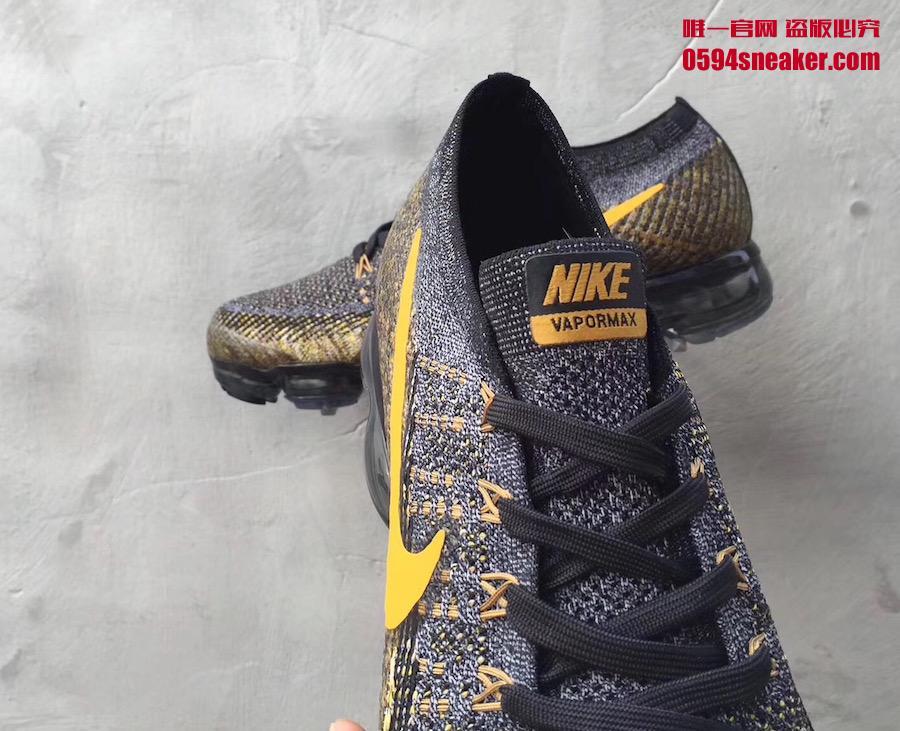 VaporMax,Nike  百搭又不低调!这双黄钩 VaporMax 可有不少亮点!