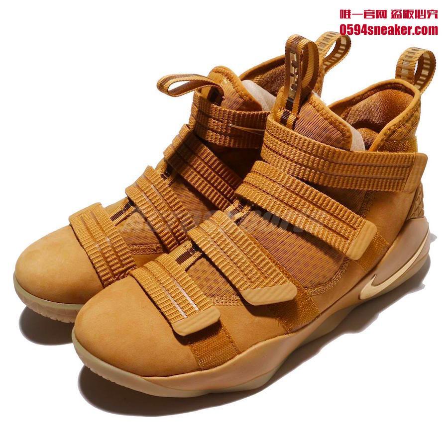 897647-700,Soldier 11,Nike 897647-700 Nike LeBron Soldier 11 也有了小麦配色!