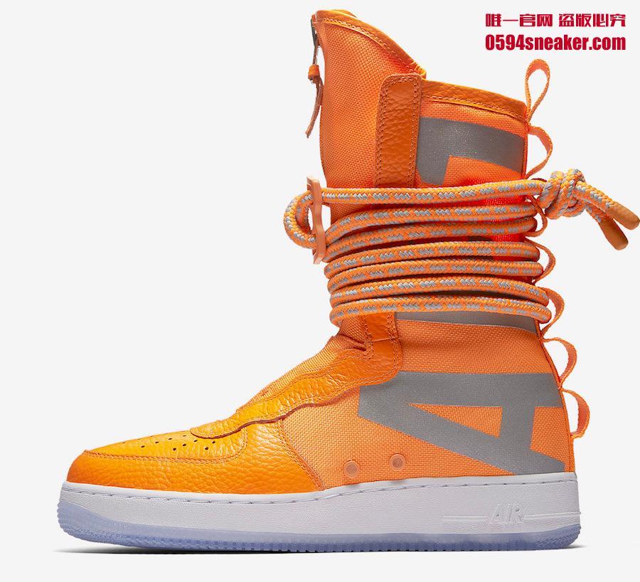 SF-AF1,Nike  全新的 SF-AF1 画风突变!鞋帮要多高才算 High?