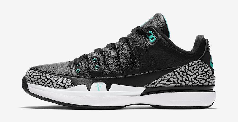 "Nike Zoom Vapor Tour AJ3 ""Clear Jade"" 货号:709998-031 发售价:$200 美元 - 莆田鞋"