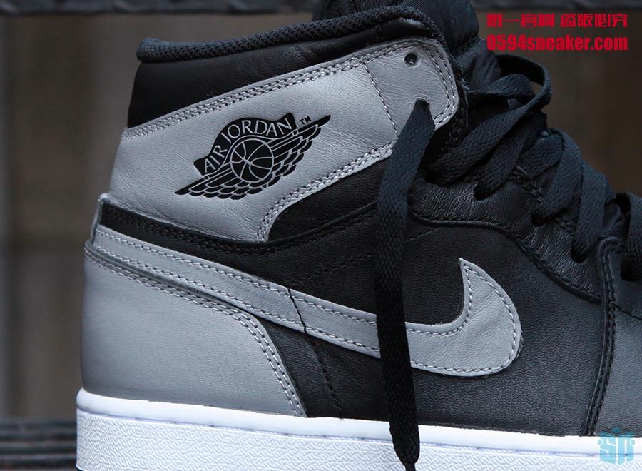 "AJ1,Air Jordan 1  超高人气 Air Jordan 1 ""Shadow"" 将于四月发售!"