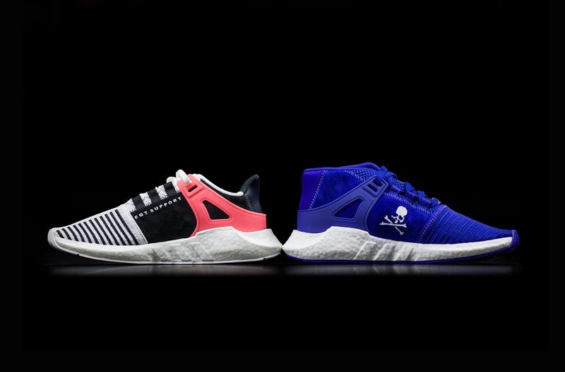 mastermind WORLD x adidas EQT Support 93/17 Boost 白蓝配色 - 莆田鞋