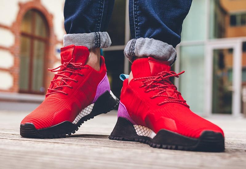 """adidas Originals AF 1.4 PK """"Scarlet""""  货号:BZ0614 - 莆田鞋"""