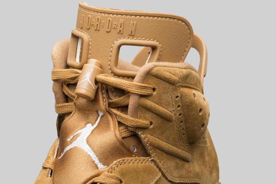 "Air Jordan 6 ""Wheat"" 货号: 384664-705 - 莆田鞋"