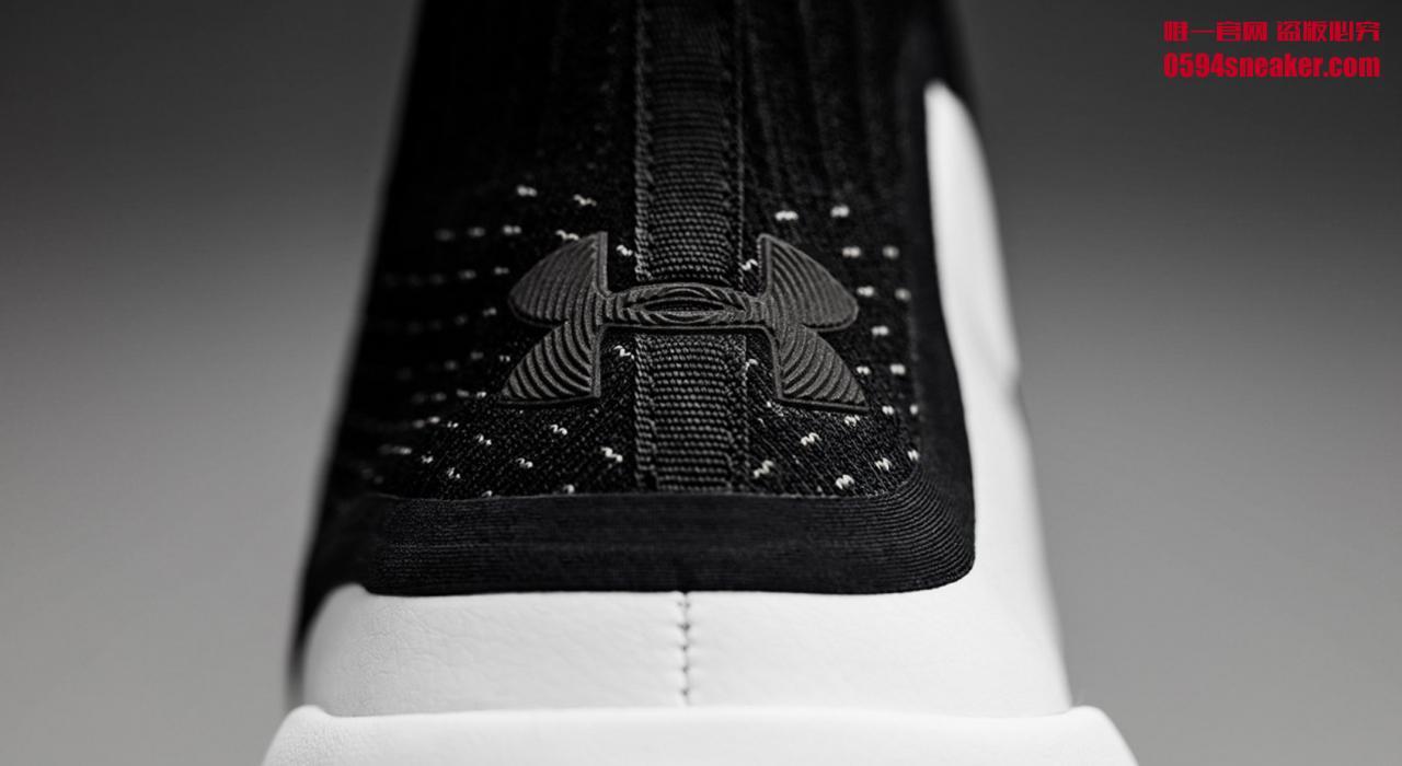 "Under Armour Curry 4 ""Black/White"" 货号:1298306-007 - 莆田鞋"