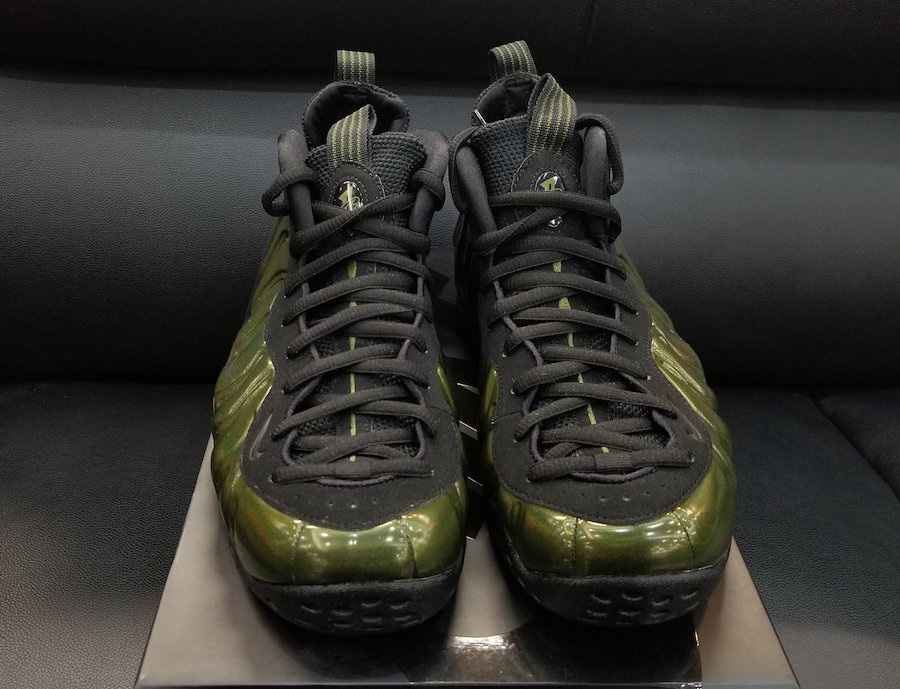 "314996-301,Foamposite,Foamposi 314996-301 电光绿喷 Nike Air Foamposite One ""Legion Green"" 月底发售"