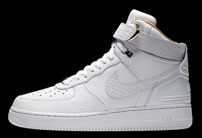 Nike,Air Force 1,AF-100,Just D  三位一体质感奢华! Don C x Air Force 1 Hi 实物官图释出!