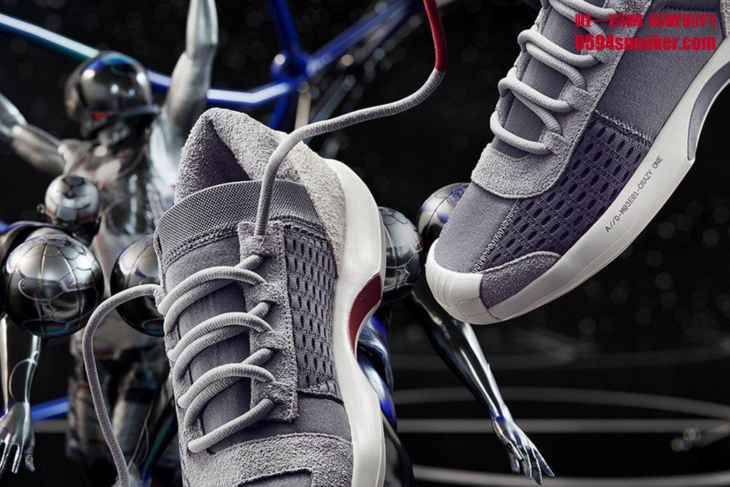 adidas Originals Crazy 1 & 8 ADV 货号:CQ1869、CQ1868 - 莆田鞋
