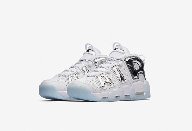 "Nike Air More Uptempo ""Chrome Blue"" 女生专属配色,货号:917593-100 | 球鞋之家0594sneaker.com"