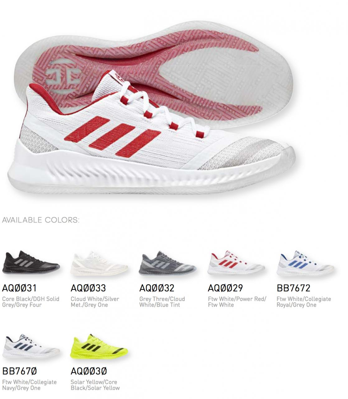 adidas,Harden B/E 2,Harden  火箭配色!哈登团队支线 adidas Harden B/E 2 首次曝光!