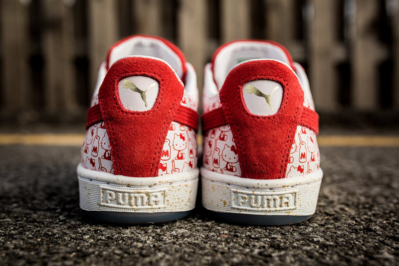 Hello Kitty x PUMA Suede 彪马联名 - 莆田鞋