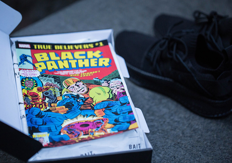 BAIT x Black Panther x PUMA 三方联名 - 莆田鞋