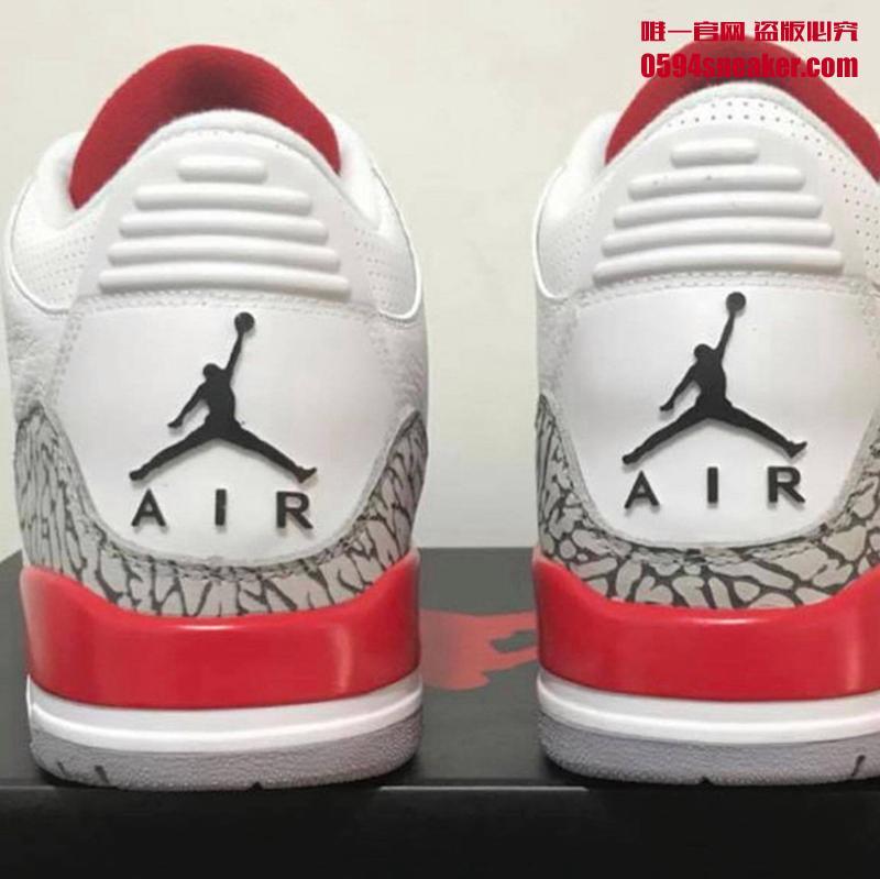 "Air Jordan 3,Katrina,AJ3,13606 五月登场!飓风配色 Air Jordan 3 ""Katrina"" 实物细节近赏"