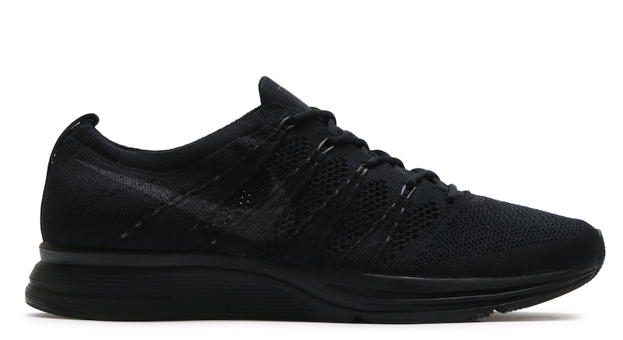 "AH8396-004,Flyknit Trainer,Nik AH8396-004 黑到不能再黑!Nike Flyknit Trainer ""Triple Black"" 即将发售"