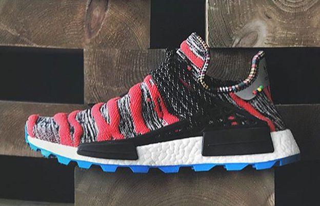 "Pharrell x adidas Hu NMD ""Afro Pack""  货号:BB9531 - 莆田鞋"
