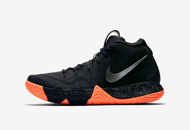 Nike,Nike Kyrie 4,943806-010 醒目黑橙!Nike Kyrie 4 全新配色即将发售
