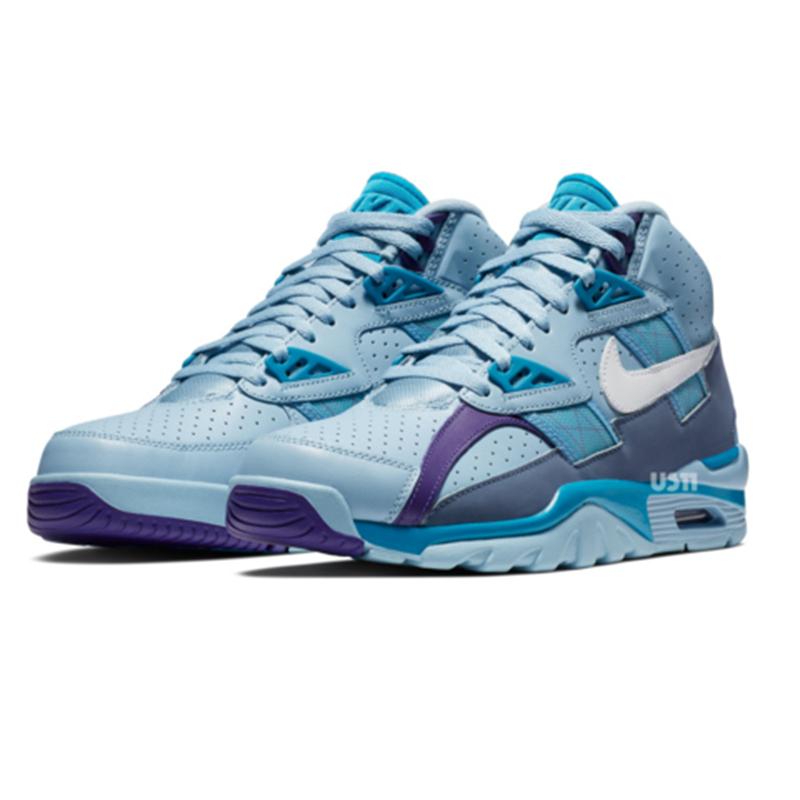 Nike,Nike Air Trainer SC High,  复古蓝紫色!Nike Air Trainer SC High 新配色发售