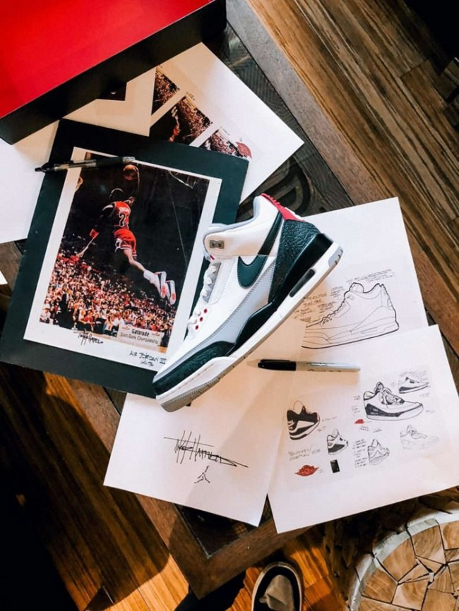 "AJ3,Air Jordan 3,AQ3835-160  下周发售!带钩子的 Air Jordan 3 ""Tinker"" 值得入手!"