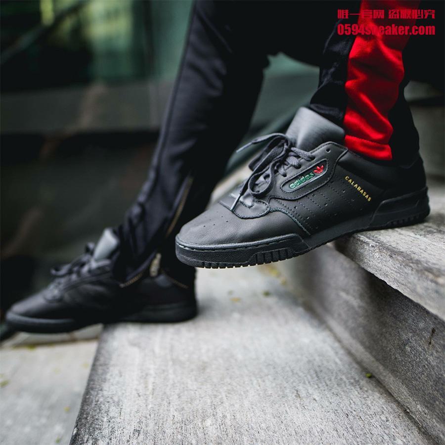 Adidas Yeezy Powerphase Core Black 货号:CG6420 - 莆田鞋