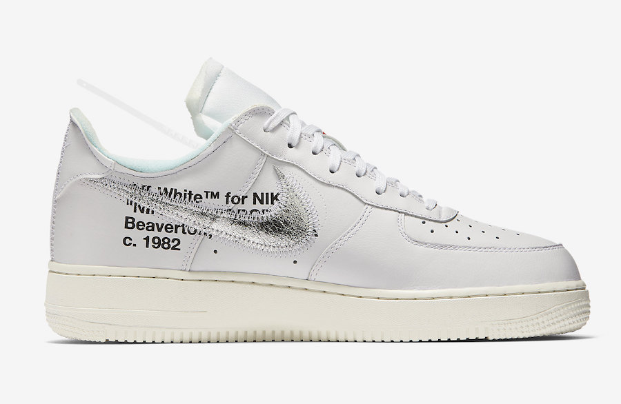 OFF-WHITE,Nike,Air Force 1 Low  会场独占 OFF-WHITE x Air Force 1 或将迎来大范围市售