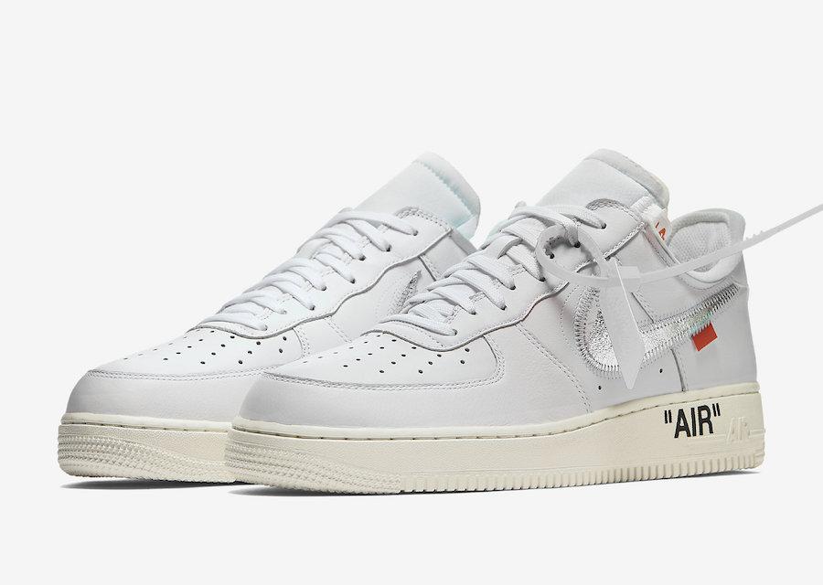 OFF-WHITE,Nike,Air Force 1 Low  会场独占 OFF-WHITE x Air Force 1 或将迎来大范围市售