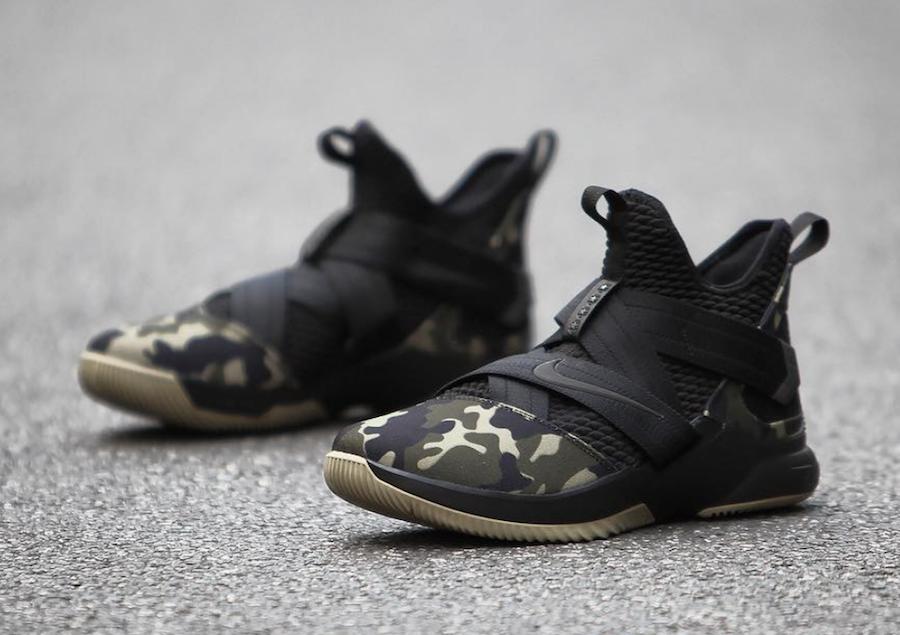 Nike,Soldier 12,AO4054-001  硬朗军绿迷彩!全新配色 Soldier 12 下周正式发售