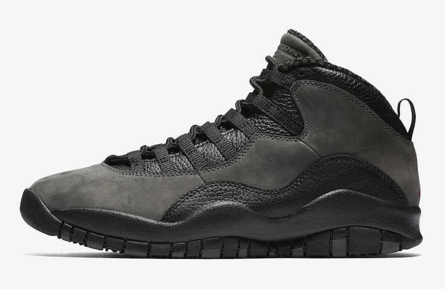 "AJ10,Air Jordan 10,310805-002  发售日期更改!Air Jordan 10 ""Shadow"" 下周正式登场"