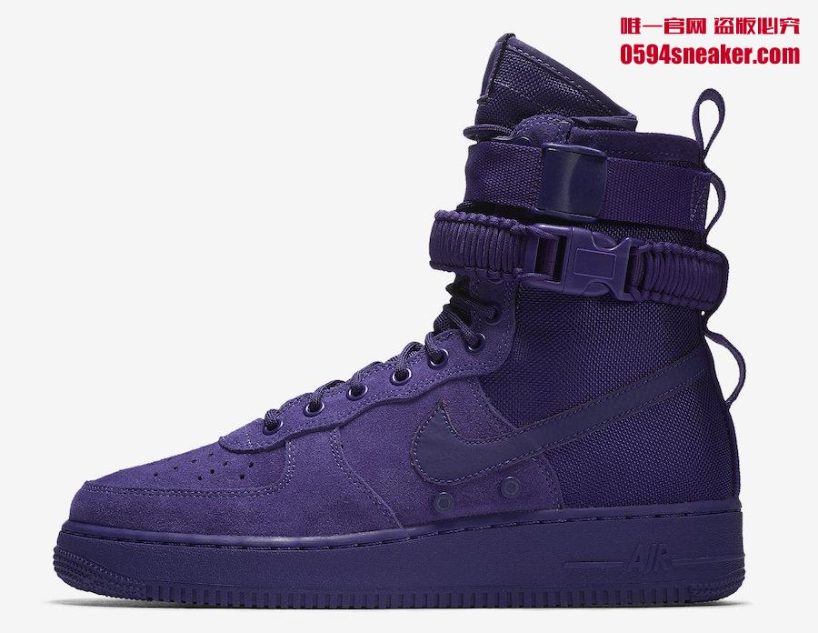 "Nike,SF-AF1,Air More Money,Van  今年最流行的紫色!Nike 全新 ""Court Purple"" 系列下月发售"