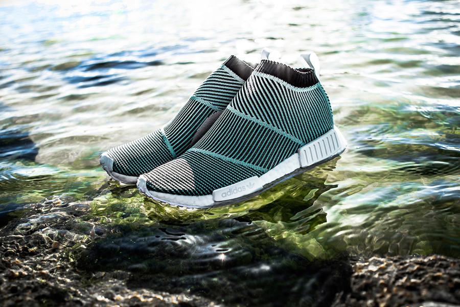 "adidas NMD City Sock Primeknit ""Blue Spirit"" 货号:AC8597 - 莆田鞋"