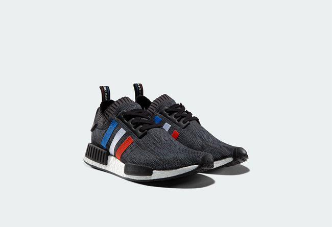 "adidas NMD R1 Primeknit ""Tri-Color"" 货号:BB2887、BB2888 - 莆田鞋"