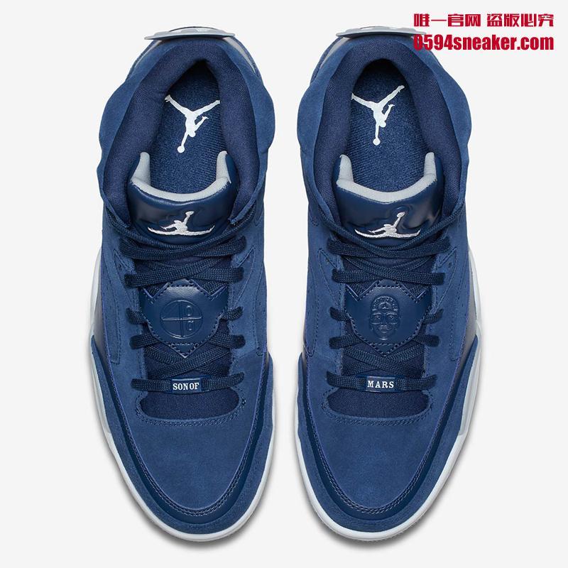 Jordan,Son Of Mars,580603-402  蓝麂皮合体鞋!Jordan Son of Mars 全新配色登场