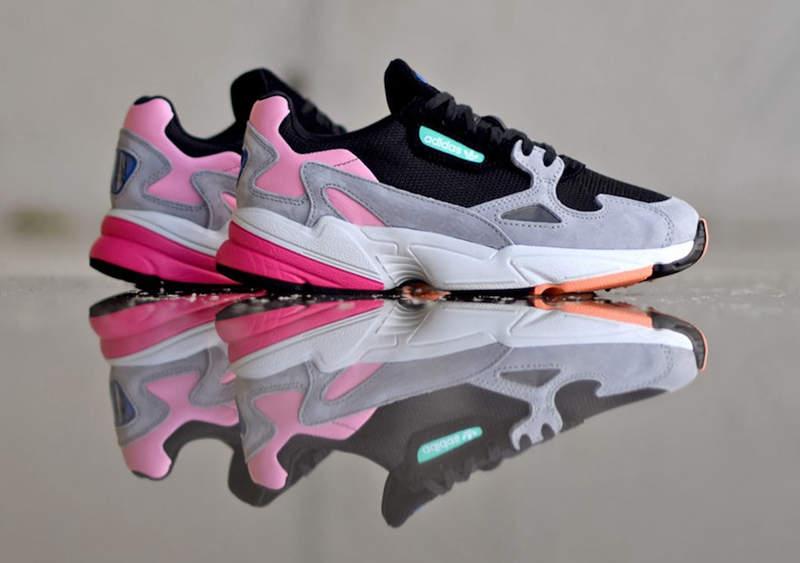 阿迪达斯新款老爹鞋 adidas Falcon 货号:BB9173 - 莆田鞋